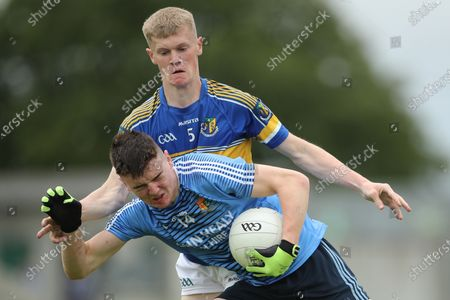 Editorial image of Br. Bosco Leinster Colleges A Senior Football Final, Bord na Mona O'Connor Park, Tullamore, Co. Offaly - 17 Jul 2020