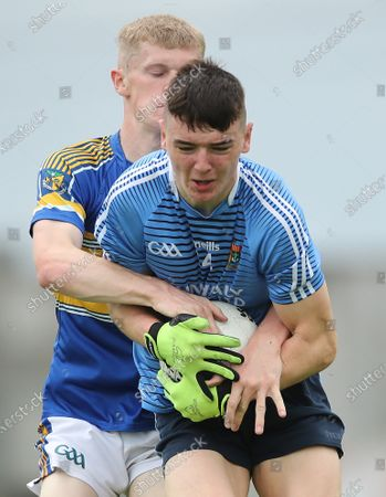 Stock Photo of CBS Naas vs St. Joseph's Rochfortbridge. Naas' Kevin Quinn and Aaron Kelleghan of Rochfortbridge