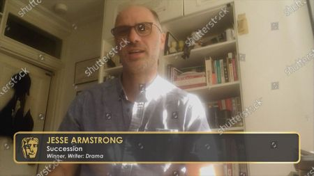 Jesse Armstrong, winner of the Writer: Drama award for Succession