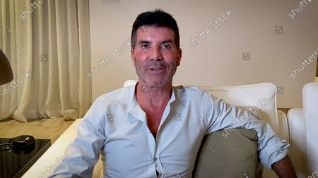 Stock Image of Simon Cowell introduces the Special Award recipients