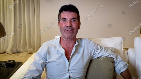 Stock Picture of Simon Cowell introduces the Special Award recipients