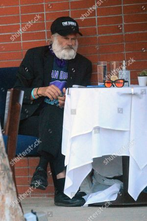 Editorial photo of Jonathan Goldsmith out and about, Los Angeles, USA - 16 Jul 2020