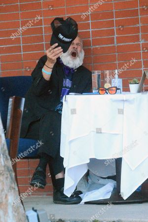 Editorial image of Jonathan Goldsmith out and about, Los Angeles, USA - 16 Jul 2020