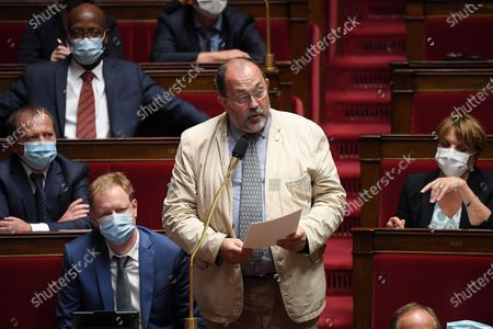 Editorial image of French National Assembly, Paris - 16 Jul 2020