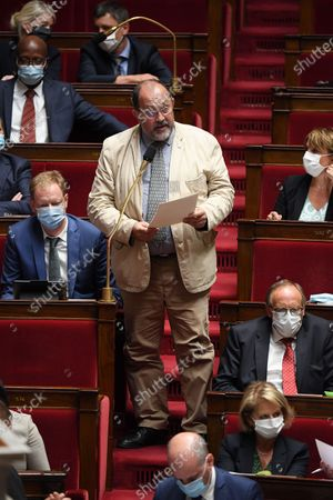 Editorial photo of French National Assembly, Paris - 16 Jul 2020