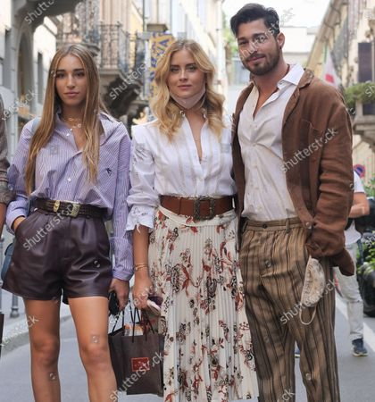 Editorial picture of Super fashion bloggers parade, Milano, Italy/Milan, Italy - 15 Jul 2020