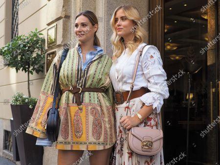 Editorial image of Super fashion bloggers parade, Milano, Italy/Milan, Italy - 15 Jul 2020