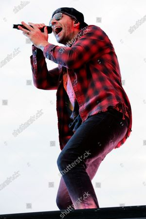Stock Photo of M Shadows of Avenged Sevenfold
