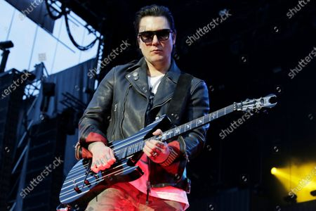Stock Picture of Synyster Gates of Avenged Sevenfold