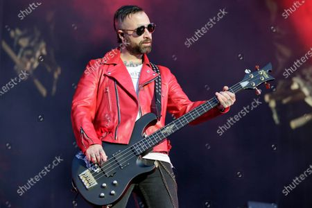 Editorial image of Avenged Sevenfold in concert at Download Festival, Donington Park, Leicestershire, UK - 08 Jun 2018