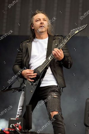 Michael Paget of Bullet for my Valentine