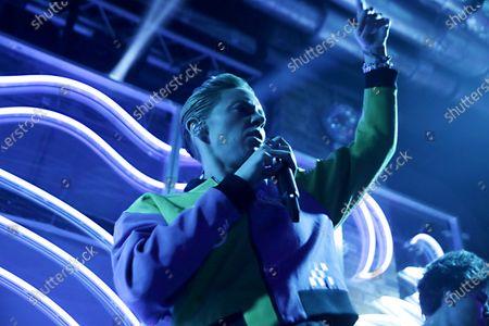 Stock Image of Elly Jackson of La Roux