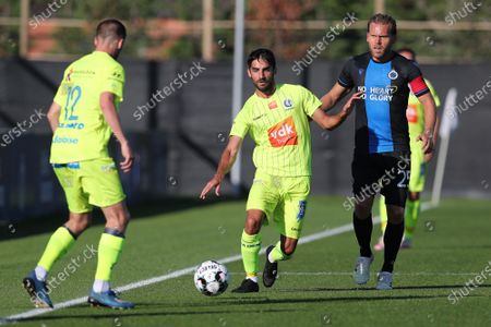Editorial picture of Soccer Friendly Club Brugge Vs Kaa Gent, Westkapelle, Belgium - 18 Jul 2020