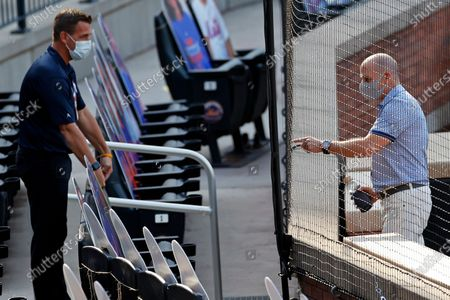 Editorial image of Yankees Mets Baseball, New York, United States - 18 Jul 2020