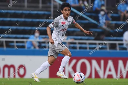 Ryota Oshima (Kawasaki Frontale) - Football / Soccer : 2020 J1 League match between Yokohama FC 1-5 Kawasaki Frontale at Nippatsu Mitsuzawa Stadium in Yokohama, Japan.