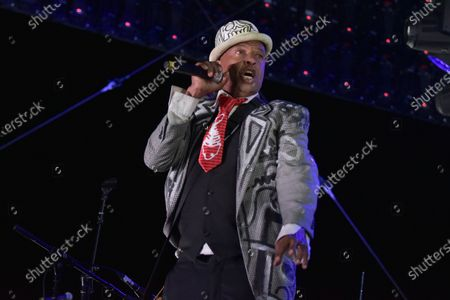 Editorial photo of Concerts in your Car - Ozomatli and Fishbone, Ventura, United States - 18 Jul 2020