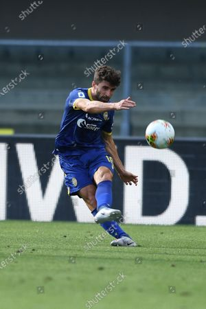 "Fabio Borini (Hellas Verona)                   during the Italian ""Serie A"" match between Hellas Verona 1-1 Atalanta at Marc Antonio Bentegodi Stadium in Verona, Italy."
