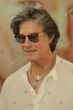 Editorial image of Casting of Ronn Moss for a film that will see him in the role of director,Turin, Italy - 16 Jul 2020
