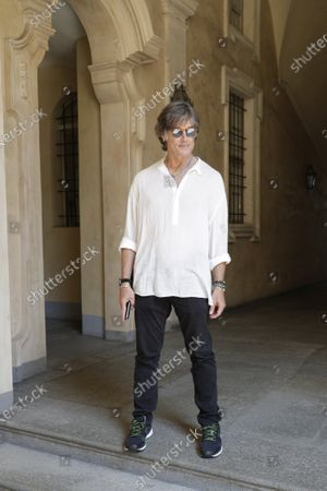 Editorial photo of Casting of Ronn Moss for a film that will see him in the role of director,Turin, Italy - 16 Jul 2020