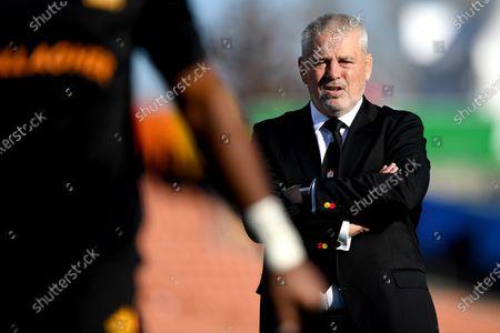 Chiefs vs Highlanders. Chiefs' Headcoach Warren Gatland