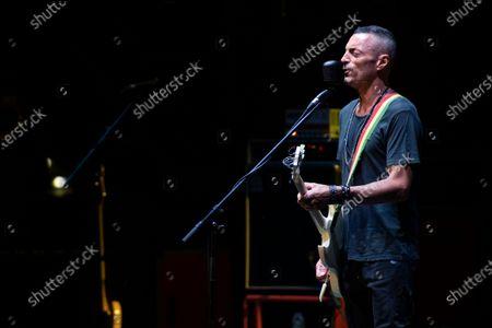 Editorial picture of Alex Britti in concert at the Cavea of the Auditor, Roma, Lazio, Italy - 18 Jul 2020