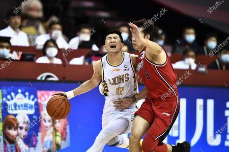Editorial photo of China Qingdao Basketball Cba League Zhejiang Lions vs Shenzhen Aviators - 19 Jul 2020