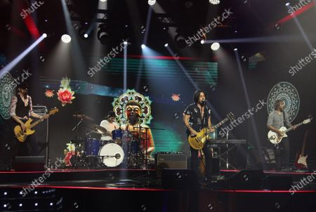 Editorial photo of 'Back2back Let's Play' TV show, Rome, Italy - 15 Jul 2020