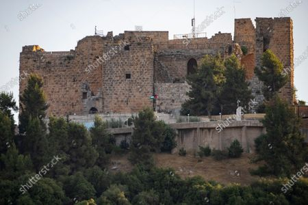 Editorial picture of Locals visit medieval Ajloun Castle as Jordan seeks to boost its domestic tourism sector, Aljoun - 19 Jul 2020