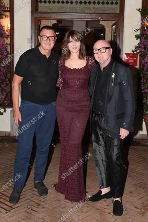 Editorial photo of Taormina Film Festival, Evening in honor of Dolce Gabbana, Italy - 18 Jul 2020