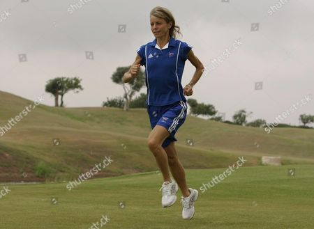 Tracey Morris. At Cyrus 2004 Olympic Holding Camp. Tracey Morris Marathon Runner.