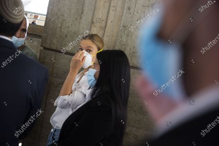 Editorial image of Bar Refaeli at court, Tel Aviv, Israel - 20 Jul 2020