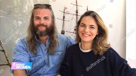 Kara Tointon and fiance
