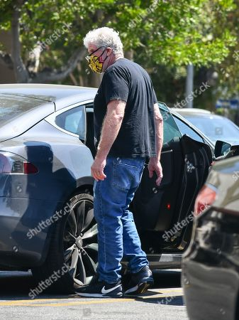 Stock Picture of Ron Perlman goes grocery shopping in West Hollywood