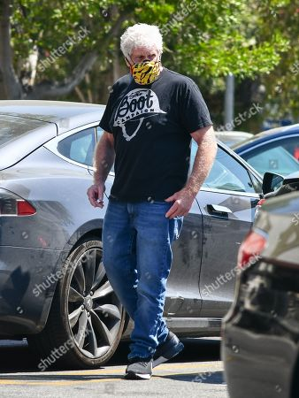 Editorial image of Ron Perlman out and about, Los Angeles, USA - 20 Jul 2020
