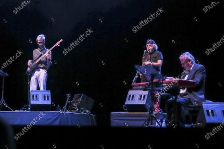 Editorial picture of Francesco Guccini and Neri Marco in concert, Cavea del Parco della Musica, Rome, Italy - 20 Jul 2020