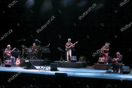 Editorial photo of Francesco Guccini and Neri Marco in concert, Cavea del Parco della Musica, Rome, Italy - 20 Jul 2020