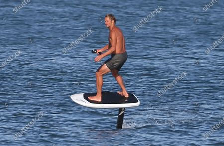 Editorial picture of Laird Hamilton out and about, Los Angeles, USA - 20 Jul 2020
