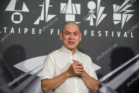 Stock Photo of Taiwanese film director, Tsai Ming-Liang attends a press conference as he promotes his new film ''Days / Rizi' during the Taipei film festival. The film 'Days / Rizi' was selected to compete for the Golden Bear in the main competition section, and won the jury Teddy Award at the 70th Berlinale.