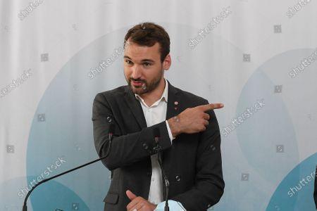 Stock Image of Ugo Bernalicis