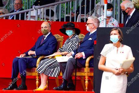 Prince Lorenz, Princess Astrid and Prince Laurent