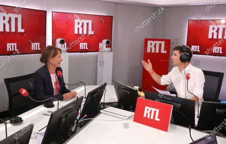 Thomas Sotto, Segolene Royal on RTL radio