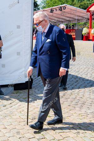 Prince Laurent of Belgium attending Belgian National Day 2020 in Brussels, Belgium.