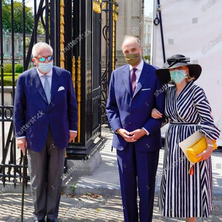 Prince Laurent, Prince Lorenz and Princess Astrid