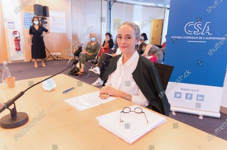 Editorial photo of Delphine Ernotte Cunci hearing by the Csa for the presidency of France Television, Paris, France - 21 Jul 2020