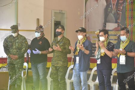 Ground breaking ceremony of the Bangsamoro governments. The 100 bed capacity Covid-19  isolation Center. Bangsamoro Inter Agency Task Force (BIATF) on Covid 19. Datu Halun Sakilan Memorial Hospital, Bongao, Tawi-Tawi. Joining the Minister in a short program held at Datu Halun Sakilan Memorial Hospital were 2nd Marine Brigade Commander Col Chito G Rojas PN (M)(GSC) and 2MBDE DBC Col Nestor E Narag PN (M)(GSC), Governor Yshamael I. Sali, Vice-Governor Michail K. Ahaja and Dr. Sangkula G. Laja. Also present were visiting guest from Bangsamoro Inter Agency Task Force (BIATF) Minister Eduard U. Guerra, Archt Ministry of Public Works and CWM Lt. Gen. Cirilito Sobejana, AFP ICOW,
