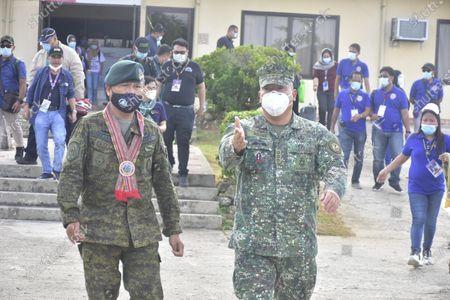 Editorial photo of Bangsamoro Inter Agency Task Force, Bongao, Tawi-Tawi, Philippines - 21 Jul 2020