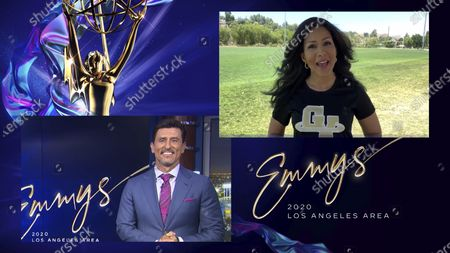 Editorial picture of 72nd Area Emmy Awards, Los Angeles, United States - 16 Jul 2020