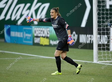 Editorial photo of NWSL Angerer On The Bench Soccer, Portland, United States - 30 Aug 2015