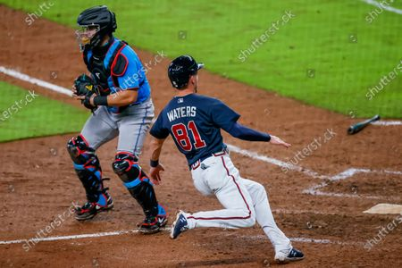 Editorial image of Miami Marlins at Atlanta Braves, USA - 21 Jul 2020