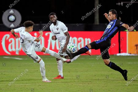 Editorial photo of MLS Impact DC United Soccer, Kissimmee, United States - 21 Jul 2020